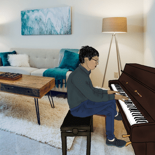 Can I have my first piano lesson without a piano?