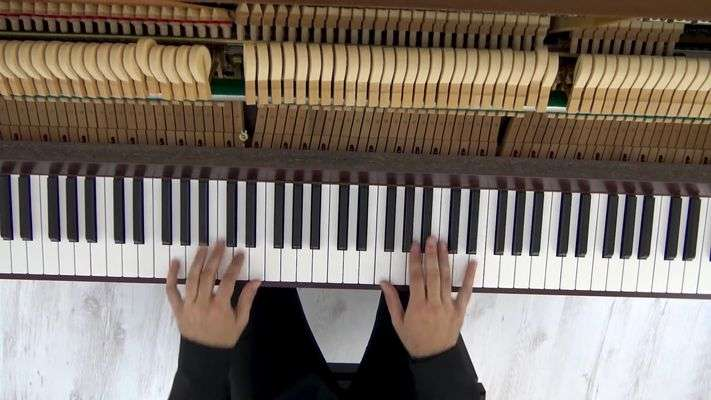 Video group piano lessons
