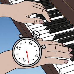 How long piano lesson hoe lang pianoles