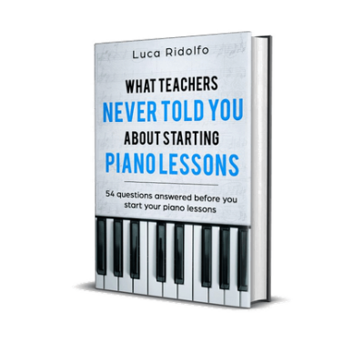 Piano lessons pianoles questions ebook