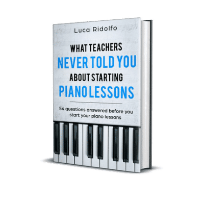 What teachers never told you about starting Piano lessons